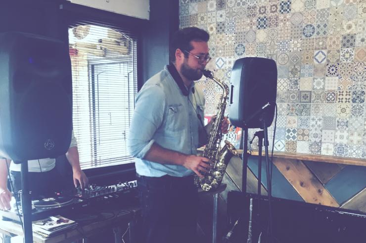 Alex Saxon Saxophonist Newcastle. Wedding Saxophonist Newcastle.