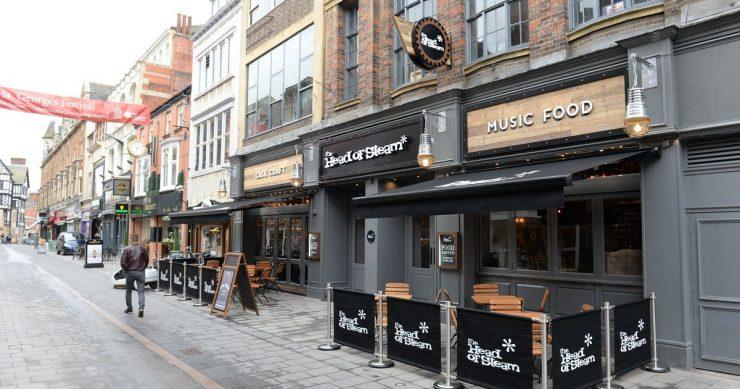Head Of Steam Leicester Pub