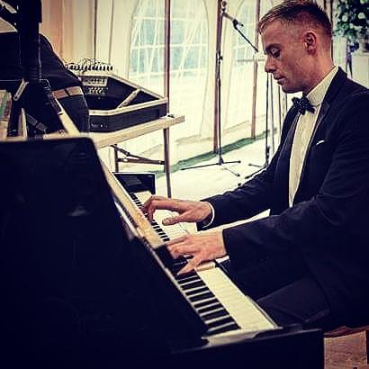 wedding pianist Durham