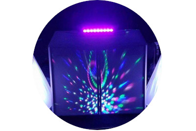 disco light hire north east